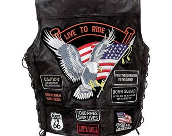 GFVBIKE14 - Men's 14 Patch Vest
