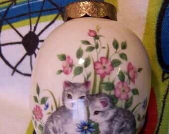 the egg lady porcelain egg