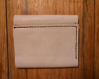 White bifold Wallet