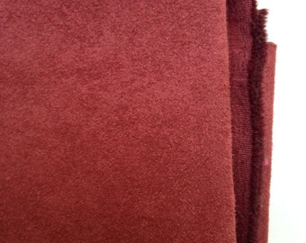 "Upholstery - 100% Polyester Ultra Suede  1 yd (36"") x 58"" Rust"