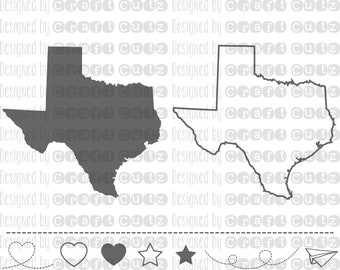 TEXAS svg, State svg Files, Texas Vector, United States svg, State Clip Art, Texas Cut File, Texas State Outline