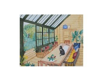 The veranda - Original