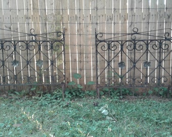Wrought iron gate | Etsy on home with cedar fence, concrete fences and gates designs, house fence and gate designs, philippines fences and gates designs, wooden gate designs, garden fences and gates designs, modern concrete home designs,