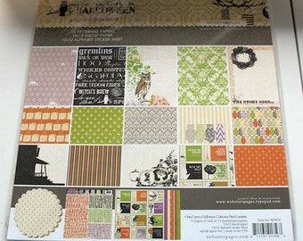 "Webster's Pages ""Once Upon a Halloween""  12"" x 12"" Collection Kit"