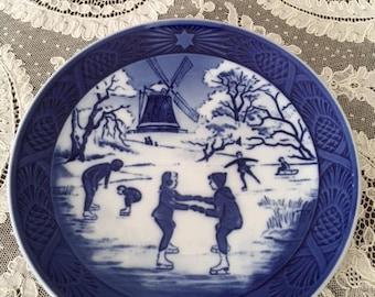 Old Skating Pond Plate