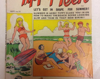 Tippy Teen Comics - September 1967