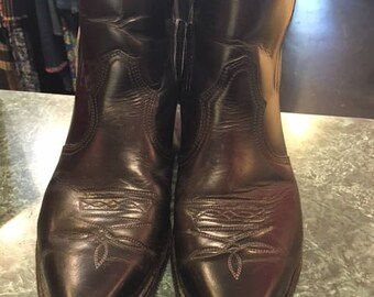 Boulet Black Ankle boots Men