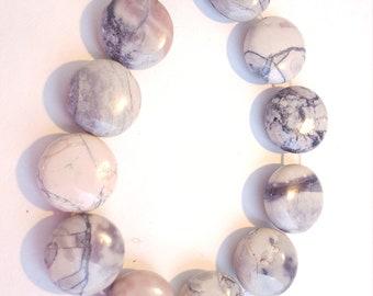 Porcelain Jasper Coins 15mm