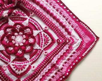 The Amanzi Block - Dutch translation | Crochet pattern