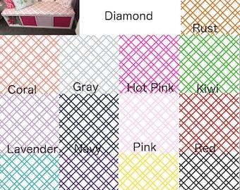 Fabric by the yard Bristol Diamond Home Decor fabric