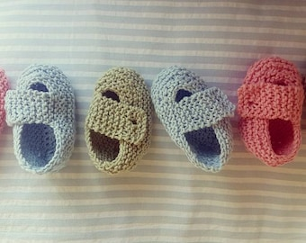 Cotton Strap Baby Shoes