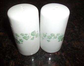 NIB Corelle  Ivy AKA Callaway Salt and Pepper Shakers