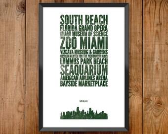 Miami City Print