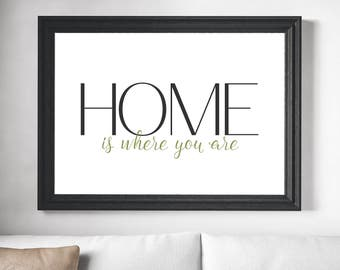 Home Is Where You Are Poster
