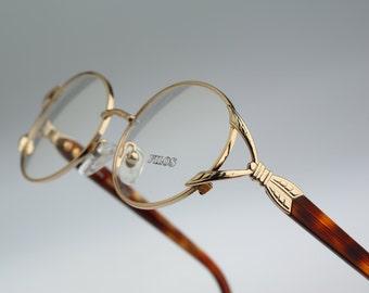 Filos 6436   / Vintage eyeglasses and sunglasses / NOS / 90s unique prescription frame