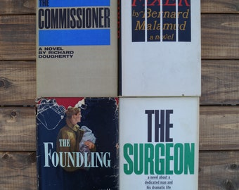 Collection of Vintage Suspense Novels - Set of 4 - 1960s