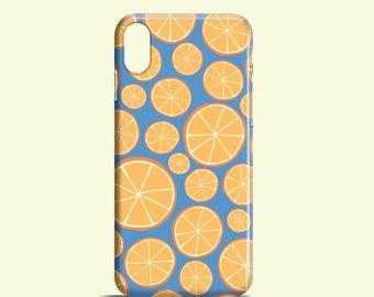 Oranges phone case / iPhone X / iPhone 8 / Bright iPhone 7 case / iPhone 7/8 Plus / iPhone 6/6S / iPhone 5/5S SE, Samsung Galaxy S7, S6, S5