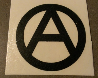 Anarchy Symbol Vinyl Decal