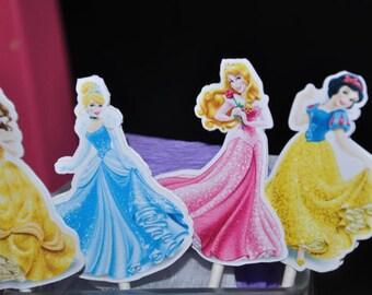 Disney Princess Cupcake Toppers set of 12