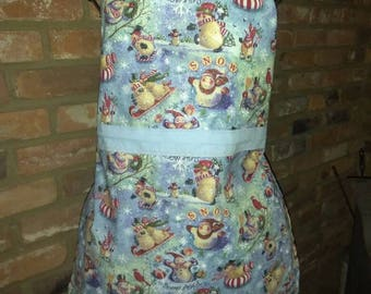 Ladies vintage style Christmas apron.