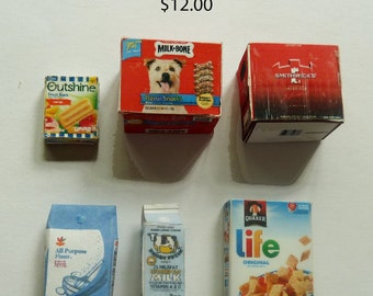 Mini pantry supplies  Set 1