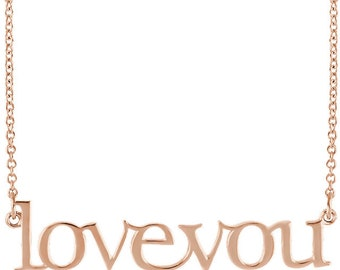 POSH Mommy Love You Necklace