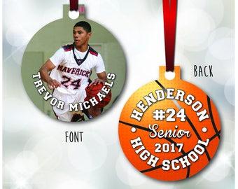 Boys Basketball Ornament