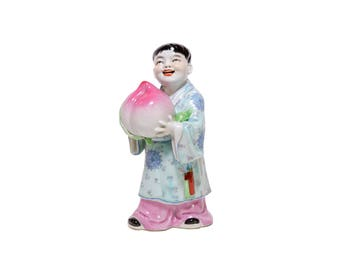 Chinese ceramic Tongzi figurine 童子
