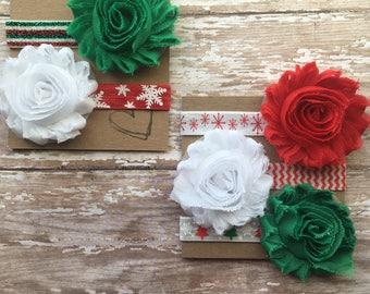 Christmas/Holiday Baby Headband - Your Choice of ONE