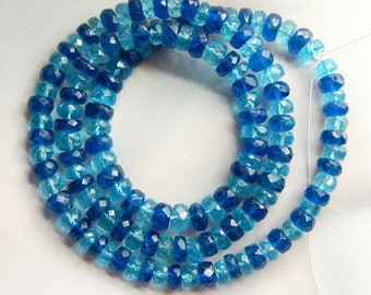 70%OFF Multi Gemstone Faceted Rondelle Beads 100 Percent Natural Gemstone  Size 6.3 To 5 mm Approx.