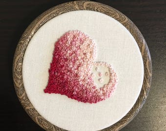 Heart of French Knots