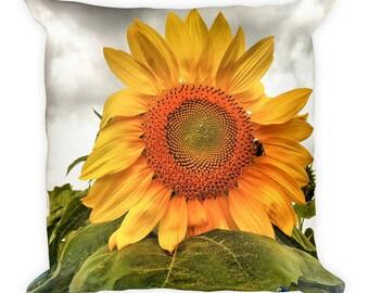 Sunflower Square Pillow