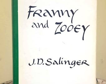 J.D. Salinger, Franny and Zooey, Rare 1st Edition Book w/ Dust Jacket (1961)