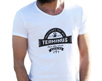 The Walking Dead Terminus Sanctuary For All 2 T-Shirt for Men Cool Gift