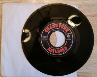 GRAND FUNK RAILROAD-1972 45 Record