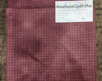 Hand-dyed Wool Fat Quarter -- Vintage Mauve -- FQ329