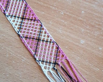Bobbin lace bookmarks