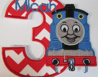 TomTom The Train Engine Birthday Set Numbers Or Letters