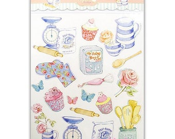 "Stickers ""Cupcakes"" embellishment scrapbooking cardmaking 1 (ref.110). *."