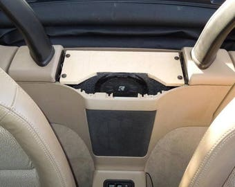 2002 2008 E85 Bmw Z4 Trunk Subwoofer Enclosure