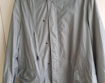 Super cool vintage Reiss jacket. Showerproof. Silver grey.