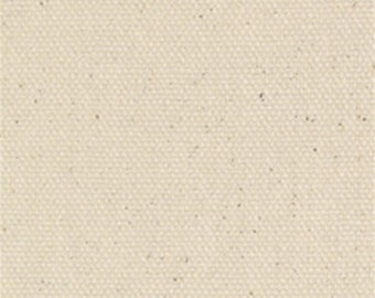 Natural 7 oz Cotton Duck Fabric - Sold by the Yard