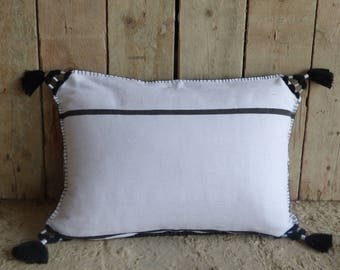 Pillow woven handmade, 100% cotton, produced supportive