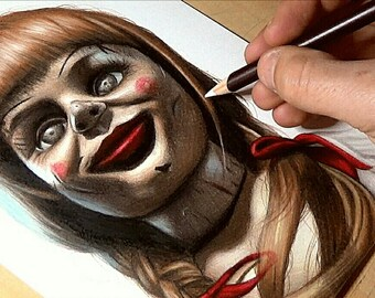 Annabelle Drawing