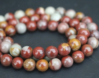 AA Aqua Nueva Agate Beads,6mm/8mm/10mm/12mm Smooth and Round Agate  Beads,15 inches one starand