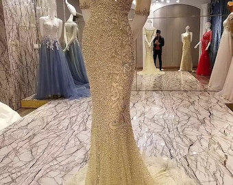 Evening Gown party crystal