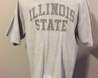 Vintage Illinois State University T-Shirt, Size: XLarge