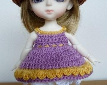PukiFee/Lati  3 Pc Outfit Lovely Lilac and Yellow