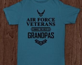 Air Force Veterans make the best Grandpas - T-shirt design - cut out design - cricut cut - Digital Download