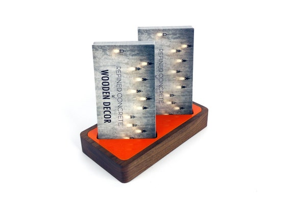 Vertical business card holder for desk multiple business like this item colourmoves Image collections